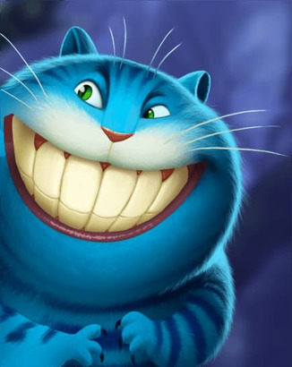 Coin Master card Cheshire Cat