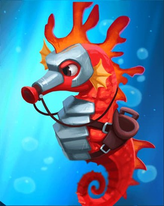 Coin Master card Reef Guardian