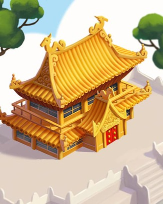Coin Master card Imperial Temple