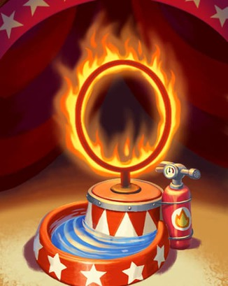 Coin Master card Fire Ring