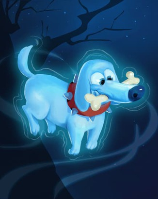 Coin Master card Ghost Dog