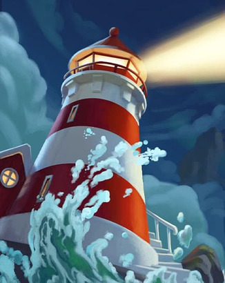 Coin Master card The Lighthouse