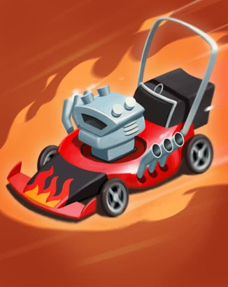 Coin Master card Lawn Destroyer