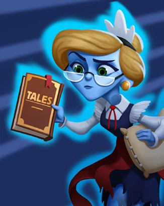 Coin Master card Haunted Harriet