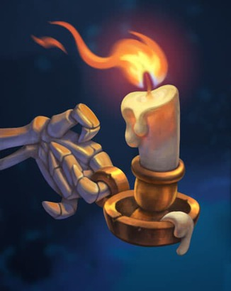 Coin Master card The Last Candle