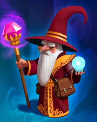 Coin Master card Mighty Wizard