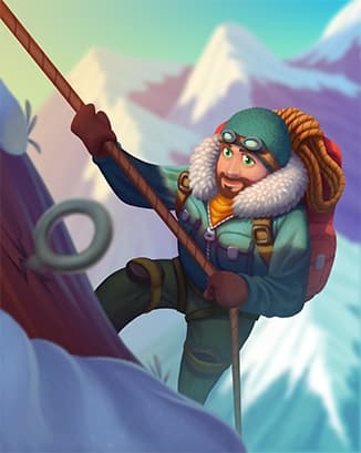 Coin Master card Frosty Hiker