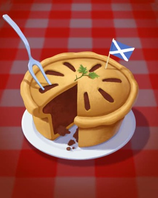 Coin Master card Meat Pie