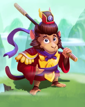 Coin Master card Magical Monkey King
