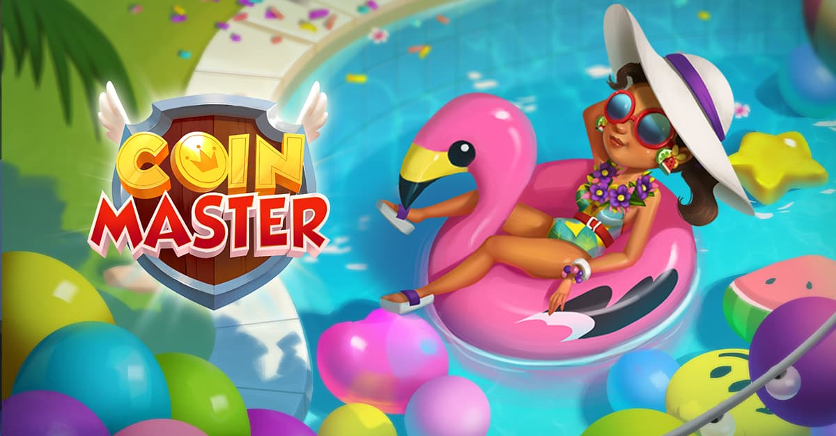 Coin Master village 281 poolparty